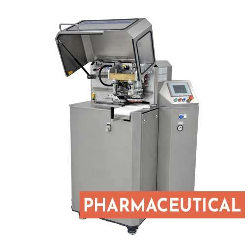 Pharmaceutical pad printing machine