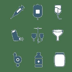 Producten medische industrie