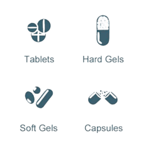 Tampondrukken op pharmaceutische tabletten